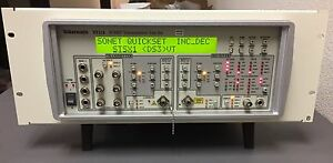 Tektronix St112 Sdh sonet Transmission Test Set