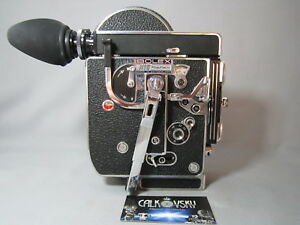 super 16 bolex h16 rex 4 16mm movie camera