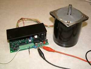 1 8 Deg Unipolar Stepper Motor With Anaheim Tm4500 Controller