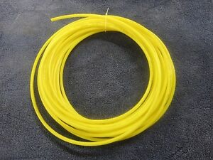 5 32 Pneumatic Polyethylene Tubing For Push In Fittings Yellow 10 Ft Pe2510 y