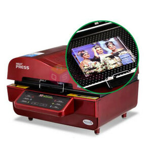 St 3042 Digital 3d Sublimation Heat Transfer Printing Machine Vacuum Heat Press
