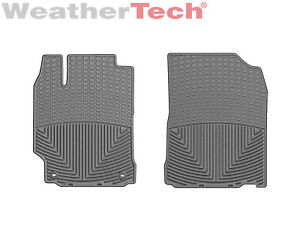 Weathertech All weather Floor Mats For Toyota Camry 2012 2017 1st Row Grey