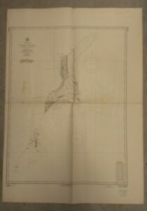 Vintage Nautical Chart Turks Islands 1961 U S Navy Hydrographic