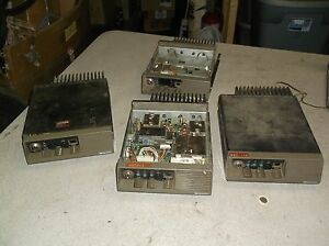 Midland 70 050c Land Mobile 2 way Radios Lot Of 4 For Parts Or Repair