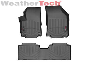 Weathertech Floorliner Floor Mats For Chevy Equinox 2018 2019 1st 2nd Row Black