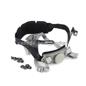 Tactical Airsoft Helmet Head Lock Buckle System Chin Strap fit PJ BJ MH Mich FG