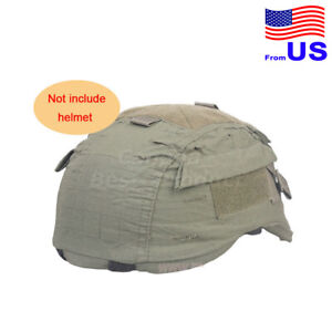 EMERSON Airsoft Tactical MICH 2001 Helmet Nylon Cover With Back OD USA $17.99