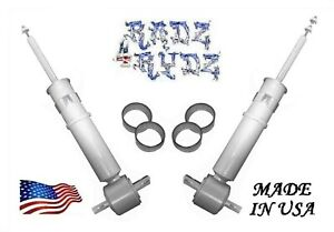 2007 2018 Silverado Sierra 1500 2 3 4 5 Lowering Kit Lowering Struts Shocks