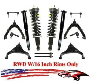 Suspension Chassis Kit For Chevrolet Colorado Gmc Canyon Rwd 16 Rims 04 06