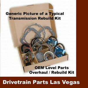 Gm Gmc Chevy Chevrolet Sm465 4 speed Transmission Rebuild Overhaul Kit Iron Case