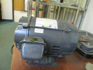 Emerson Ac Motor Dj3s2am Fr 182jm Encl dp 3hp 1735rpm 208 230 460v 9 6 9 2 4 6a