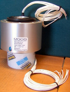 Moog W15co8h00 B8 Channel 1 5 Slip Ring Assembly 30 Amps And 1000 Rpm