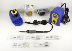 Hakko Fx888d 23by Digital Soldering Station With Chisel Tip Pack