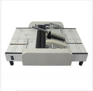 A3 Booklet Making Machine Paper Bookbinding And Folding Booklet Stapling 220v A