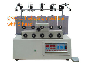 New 5 Axis Computer Cnc Automatic Coils Winder Winding Machine For Transfermer