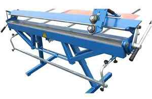 Sheet Metal Folder Bender Bending Brake Machine 2140mm 7ft Roller Shear