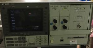 Hewlett Packard 70004a Display 70900b Oscillator 70902a 70903a