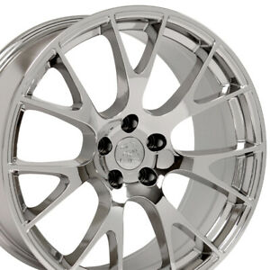 20 Rims Fit Dodge Charger Challenger Hellcat Chrome Wheels 2528