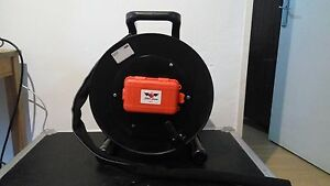 Tactical Fiber Optic Cable Reel 500m Broadcast 2 Connectors Lc Or Sc Or St
