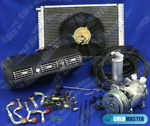 Universal Underdash Air Conditioning Kit404 Alum W Electrical Harness