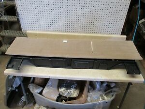 2004 Lincoln Navigator Rear Trunk Compartment Floor Jack Cover Cargo Assembly