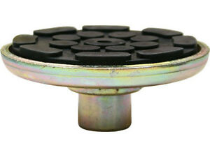 2 Post Lifts Round Lift Pad With Rubber Pad 1 1 2 Peg