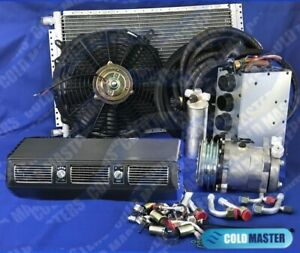 A c Kit Universal Under Dash Evaporator Heater Air Conditioner 450 Combo
