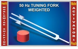 Weighted 50 Hz Tuning Fork To Stimulate Nerve Healing Hls Ehs