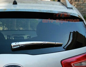 Chrome Rear Window Wiper Cover For Kia Sportage 2011 2012 2013