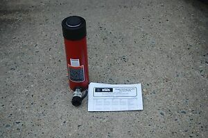 Bva H2508 Hydraulic Cylinder 25 Ton 8 Stroke Single Acting 10 000 Psi New Rc258