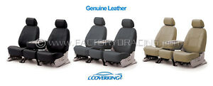 Coverking Genuine Leather Custom Seat Covers For Toyota Tacoma