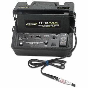 Bacharach H 10 Pro Refrigerant Leak Detector With Charger n american Plug Only