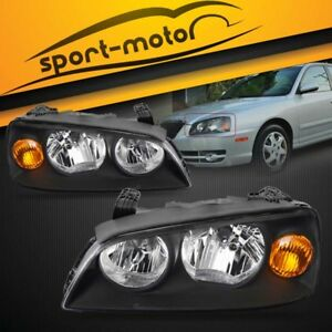 For 2004 2005 2006 Hyundai Elantra Front Headlights Headlamps Assembly Kit