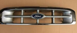 Ford Ranger 1999 2002 4 Door Pickup Front Chrome Grille Grill