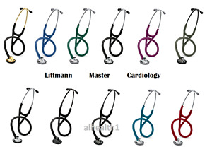Littmann Master Cardiology Doctor Or Nurses Stethoscope 11 Colors Free Shipping