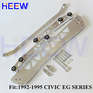 Bwr Billet Rear Control Arm Subframe Brace Tie Bar Lca For Honda Civic 92 95 Eg