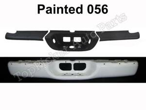 Painted 056 Natural White Rear Bumper Face Bar Top Lower Pad For 2000 06 Tundra