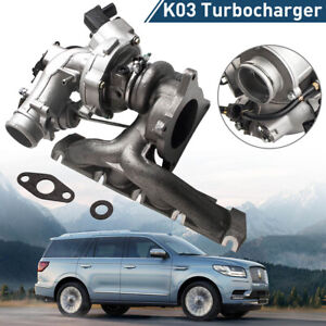 New Turbocharger Turbo For 2007 2008 Volkswagen Vw Golf Gti 2 0l