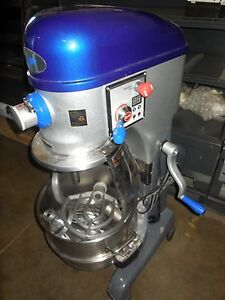 Used Vollrath mix1040 30qt Mixer With Bowl Bowl Guard 3 Tools 208v