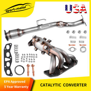Epa Approved Catalytic Converter For 2002 2006 Nissan Altima 2 5l Derect Fit