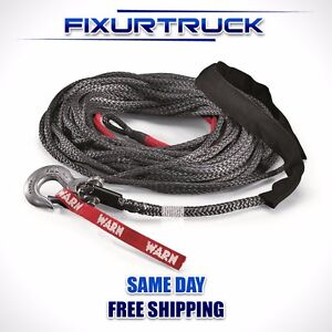 Warn 100ft Spydura Synthetic Winch Rope 87915