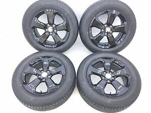 17 17 Inch Oem Genuine Jeep Wheels Rims Tires Bridgestone Turanza T001 2256017