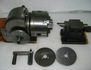 Bs 0 Semi universal Quick Dividing Indexing Head With Tail Stock For Cnc Milling
