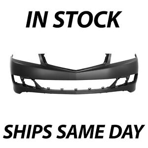 New Primered Front Bumper Cover Fascia Replacement For 2006 2007 2008 Acura Tsx
