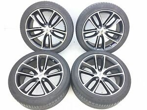 20 20 Inch Oem Dodge Challenger Charger Scat pack Wheels Rims Ti