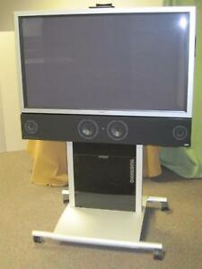 Tandberg Mobile Video Audio Business Conference System W Pioneer Plasma 50 Tv