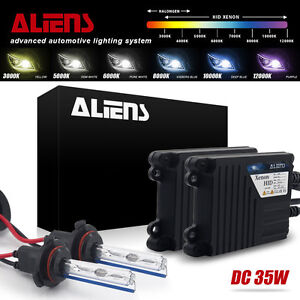 Aliens Xenon Hid Headlight Conversion Kit H4 H7 H11 H13 9007 9005 9006 All Color