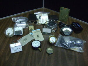 Steampunk Electronic Parts Components Parts Guages Lot Of Mixed
