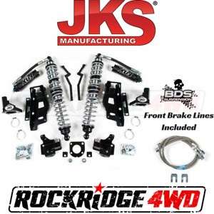 Jks Jeep Wrangler Jk 07 11 Front Fox Coilovers W Dsc Bracket Kit 2 2 5 Lift