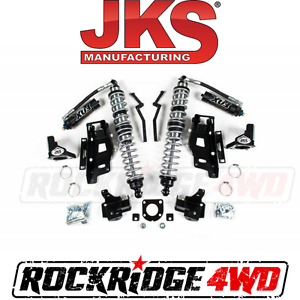 Jks Jeep Wrangler Jk 12 18 Front Fox Coilovers W Dsc Bracket Kit 2 2 5 Lift